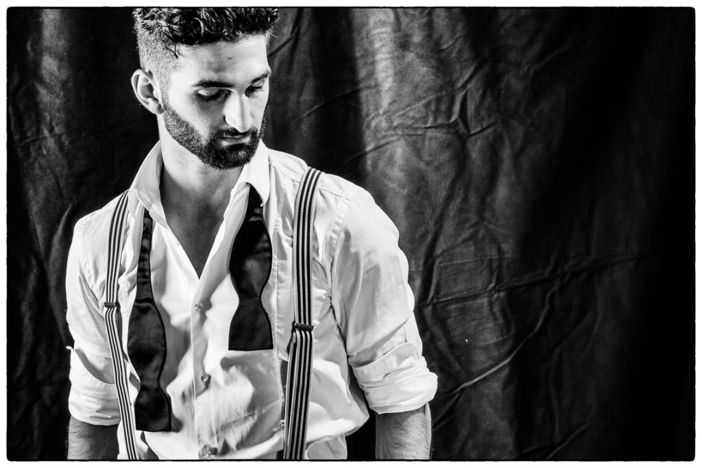 Portrait des Tänzers, Choreographen und Entertainers Kostas