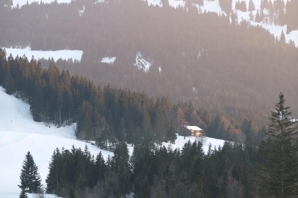 Balderschwang - Hütte am Berg