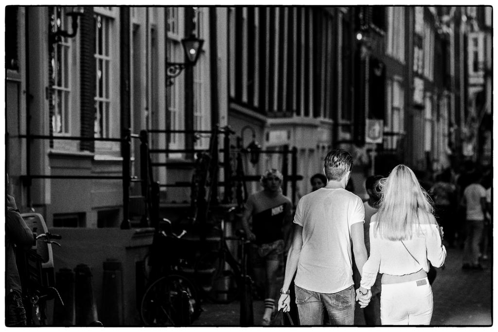 Streetphotography - Paar im Licht
