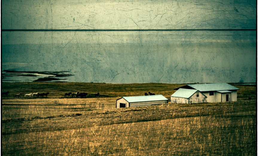 Hof an der isländischen Ostküste