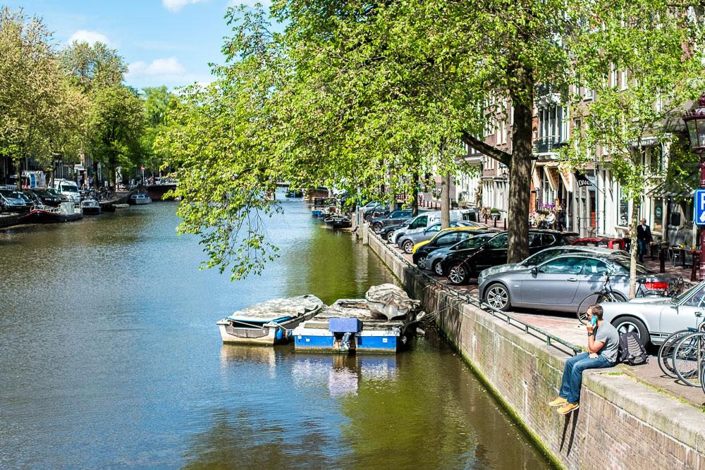 Amsterdam Grachtenidylle