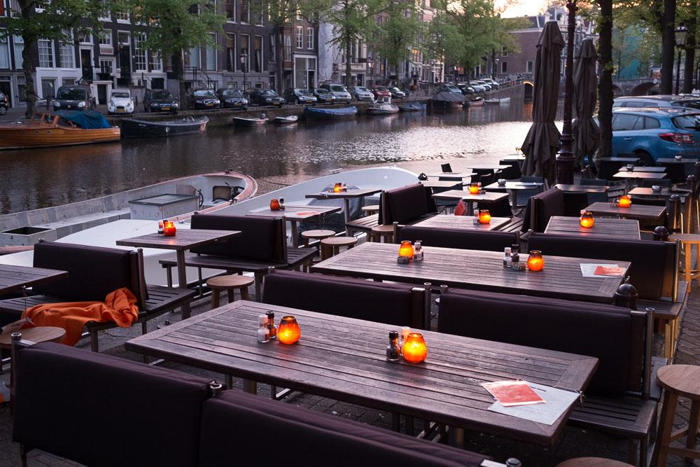 Amsterdam Abendstimmung