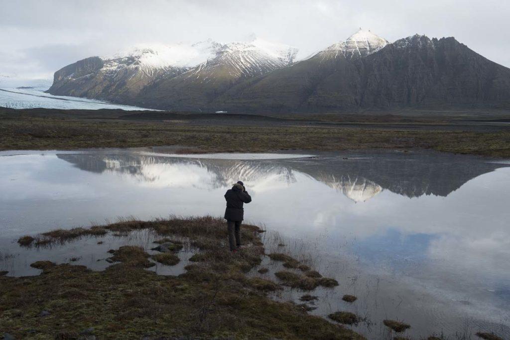 Skaftafell-Gletscher