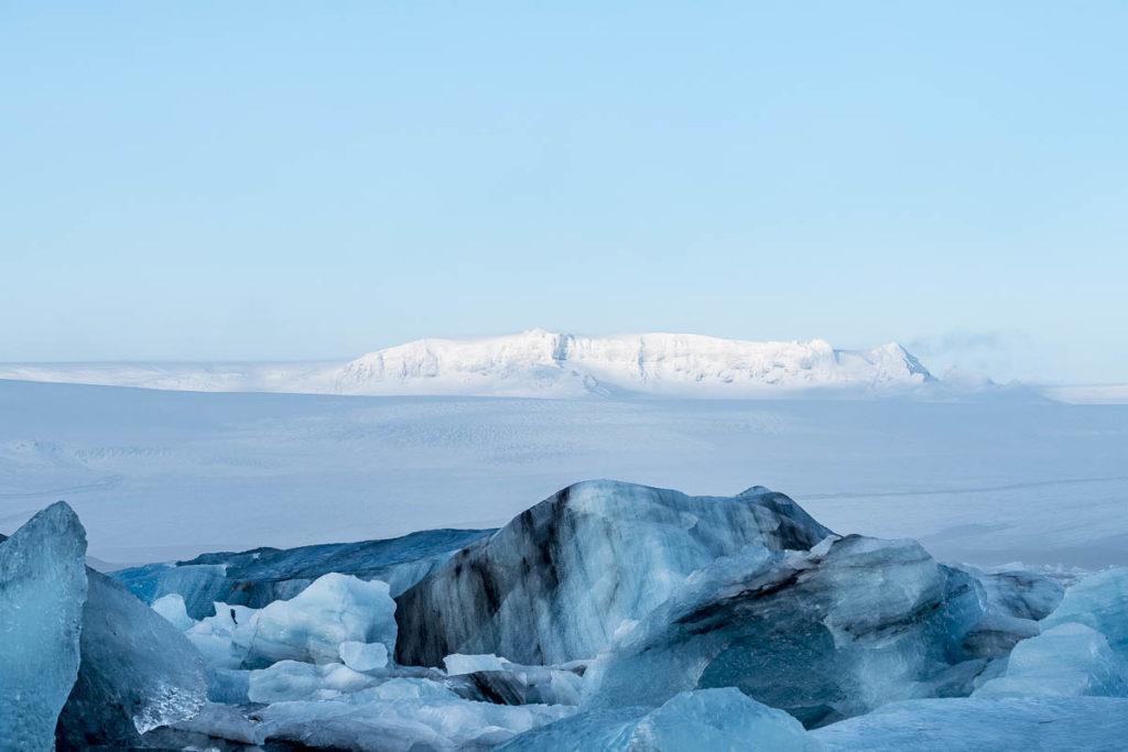 Blick in Richtung Gletscher