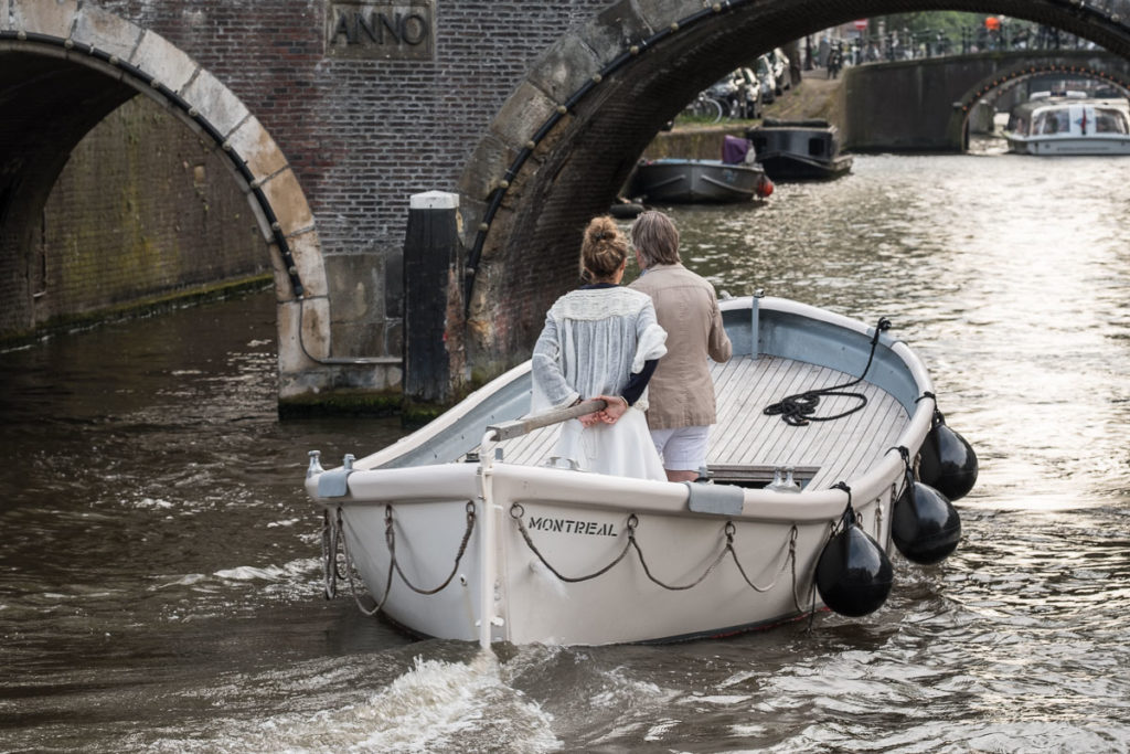 Bootfahren in der City