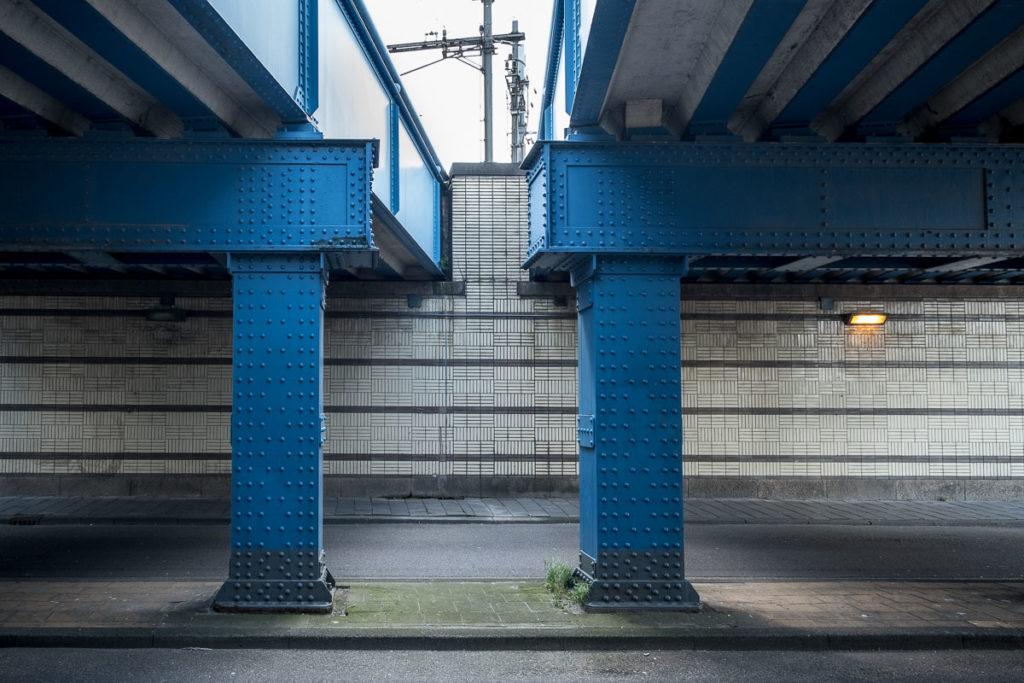 Bahnbrücke Amsterdam