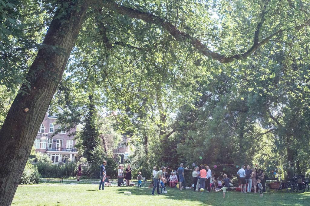 Familienfest im Vondelpark