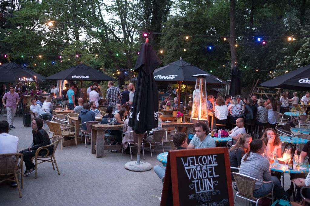 Biergarten im Vondelpark