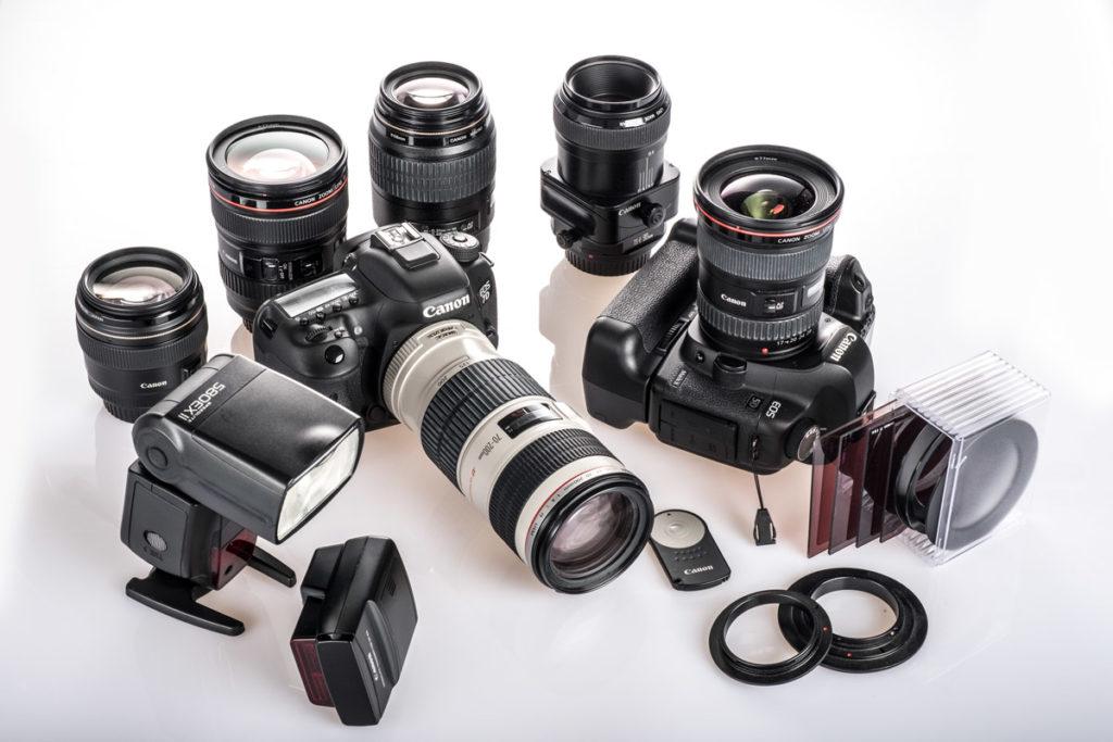 Canon-Ausrüstung