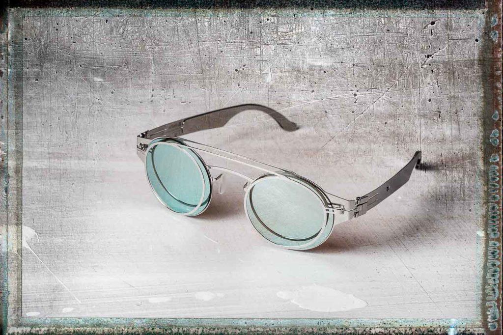 Brille mit Vintageumfeld
