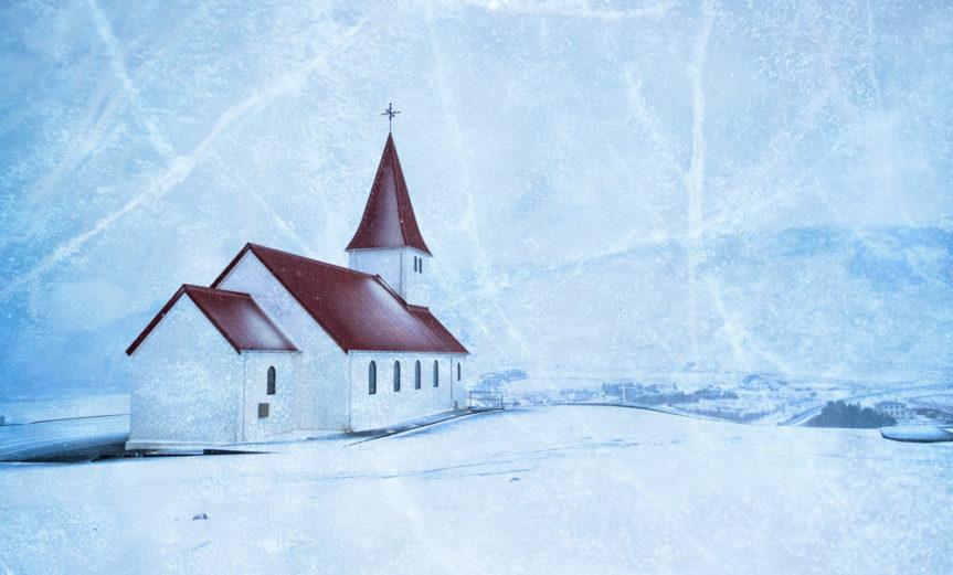 Die Kirche von Vik - Mindscapes