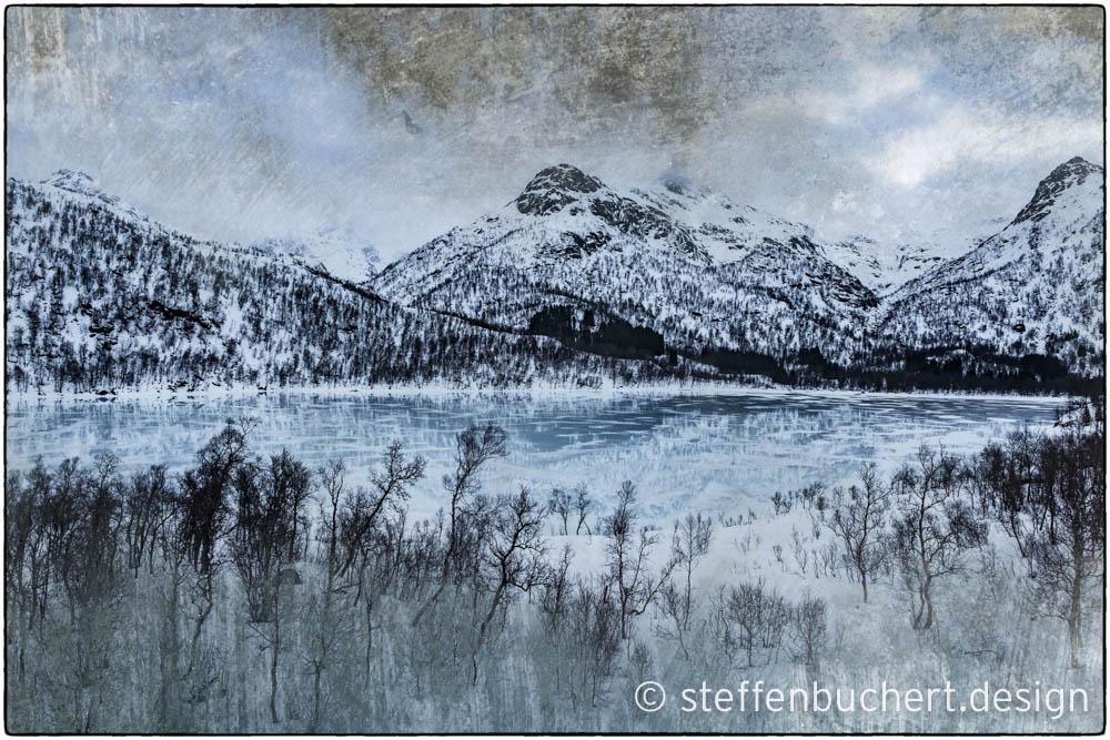 Winter am Storvatnet / Lofoten