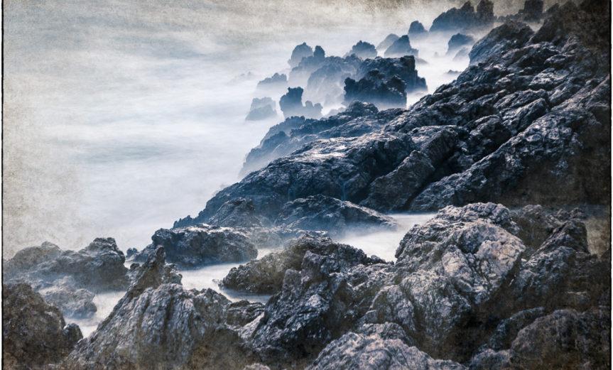 Stürmische Küste - Langzeitbelichtung