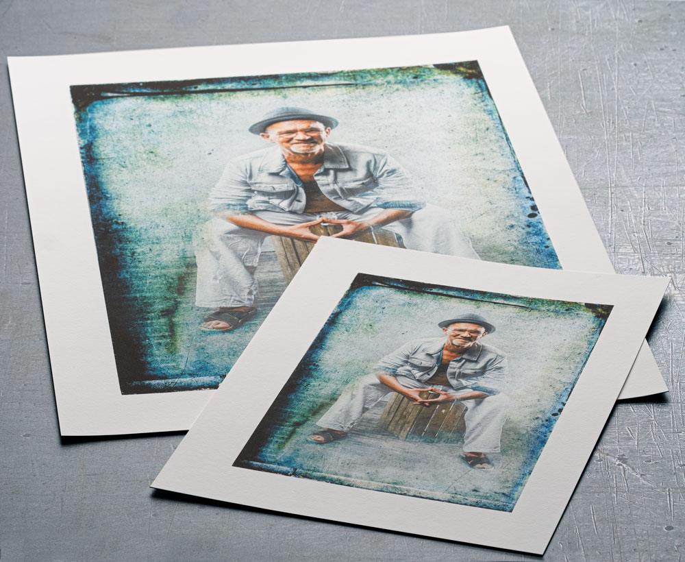Fine-Art Prints in zwei Formaten