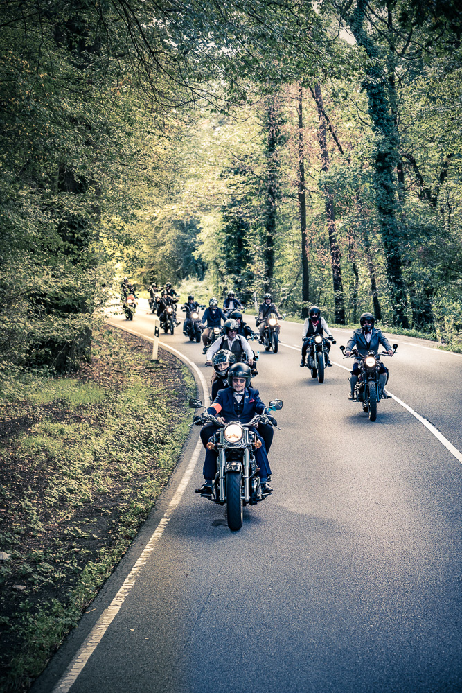 Distinguished Gentleman's Ride - Ausfahrt