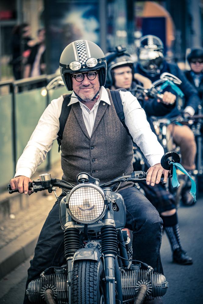 Teilnehmer Distinguished Gentleman's Ride