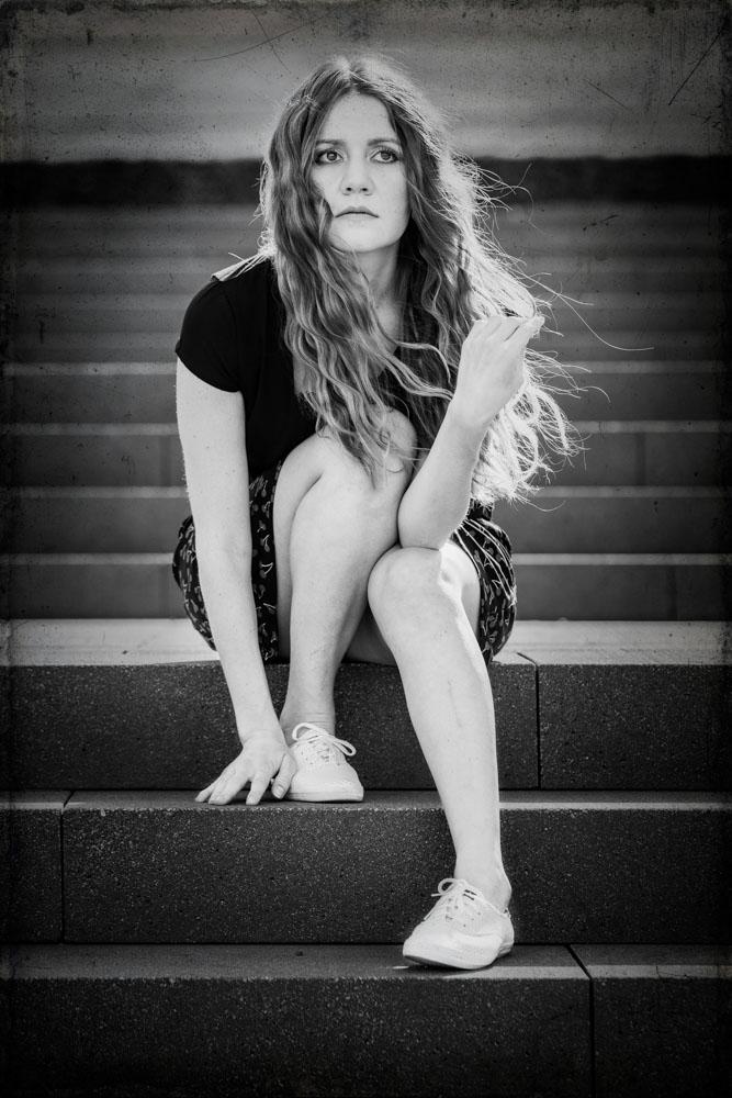 Schwarzweiß wirken Portraits oft viel prägnanter